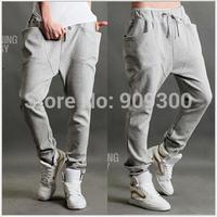 2014 Summer Men's Harem Pants Fashionable Personality Casual Loose Hip Hop Dance Male Trousers On Sale L-XXL