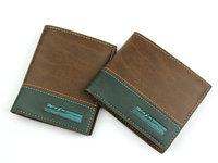 Guarantee Quality! 2014 Genuine Cow Leather Business Fashion Men's Wallet Famous Brand Men Cowhide Purse Clutch Wallets