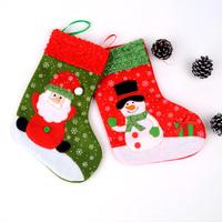 Christmas decoration snowman christmas socks gift bags Medium christmas gift socks