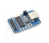 Free shipping 5pcs/lot CH375B U disk USB module USB interface communication module U disk reader module