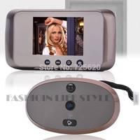"Drop Shipping 3.12""  LCD Screen IR Camera Smart Digital Visual  Doorbell Peephole Viewer SV005556 #A"