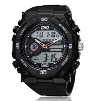 Promotion ! Military Watches Men Quartz Analog Digital Alarm Complete Calendar Multi-function Sports Watches For Men Hot Sale
