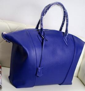 Trade European and American big leather handbag burgundy leather shoulder bag diagonal big bag shell(China (Mainland))