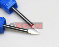 free shiping4*45*0.4Computer carving tools triangular knife engraving end milling carbide cut milling cutter