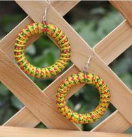 Free shipping,Original hand-circle earrings