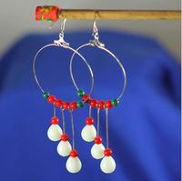 Free shipping,Bohemian ethnic style handmade earrings