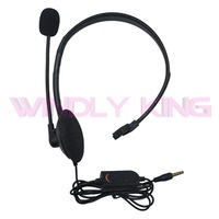 Wholesale 100pcs a lot Single Headset With Microphone for PS4 Headphone