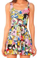 2014 fashion women summer chiffon dresses sexy evening mini o-neck sleeveless spaghetti strap casual dress free shopping WC0343