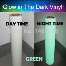 Luminescent glow in the dark car wrap vinyl 1ft x 60 air release film