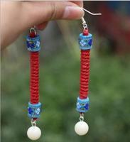 Free shipping,Ethnic original handmade earrings