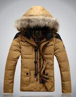 2014 Hotsale men's Winter Coat Jacket Down Coat Parka Men  Outdoor  220