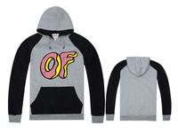 Free Shipping New Arrival Top Designer Baseball Varsity CollegeMens Hooded Brand Odd Future Sweatshirt Coats  Hoody-008