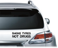 "Free Shipping,2014 new car styling,waterproof ""Not Drugs"" car sticker for BMW E46,kia rio car covers"