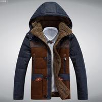 Free shipping 2014 Hotsale Men Winter Coat Jacket Down Coat Outdoor Wear High Quality  300