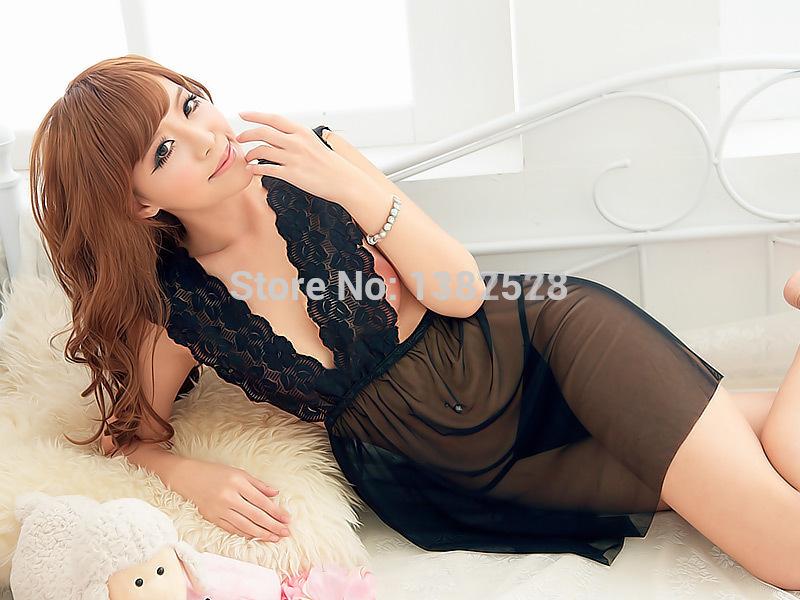 2014 new high quality Hot Mini girl Dress Sexy Club Wear Badydoll Sheer Night Gowns Maxi Clothing Set Prom Negligee Skirt Women(China (Mainland))