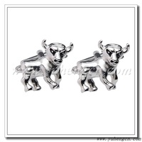 Free Shipping !YH-623 Novelty Bull Animal Cufflinks - Factory Direct Selling
