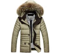 2014 winter jacket men's down jacket parkas warm outdoors thick outwear coat jackets for men 180