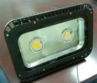 2*50w 100w floodlights waterproof outdoor light led industrial light 3 years warranty Bridgelux45mil  DHL free shipping