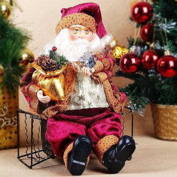 Новый флэш-санта-клаус украшения елочные украшения милый рождественские украшения