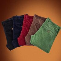 Plus Size Men Corduroy Pants 2014 New Arrival Autumn Brand Trousers Fashion Simple Slim Solid Color Casual Pants
