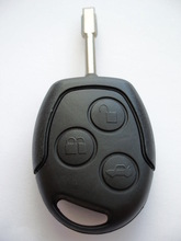 3 Button Remote Key FOB Case Shell With Uncut Blade For Ford Mondeo Fiesta Focus(China (Mainland))