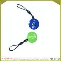 Free Shipping 2PCS/Lot 13.56MHz Ntag203  Smart IC NFC Tag 144byte  Memory Re-writable Waterproof
