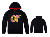 Free Shipping New Arrival Black Color skateboard clothing couple hoodies sportswear letter print Odd Future Hoody-007