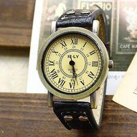 Free shipping wholesale dropship 2013 hot sale vogue design  Leather quartz watches women fashion
