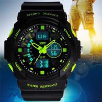 Skmei Watches Men Luxury Brand MenSports Watch Military Fashion Casual Dress Wristwatches 2 Time Zone Digital LED quartz watches