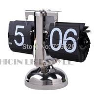 Retro Digital Flip Down Page Gear Operated Table Clock Flip Clock SV006466 #A
