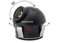 universal 360 Degree Angle Waterproof View Reverse Backup Camera Car CCD Rear View Camera front view camera