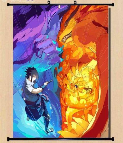 Achetez en gros affiche sasuke en ligne des grossistes for Decoration murale naruto