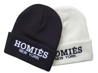 HOMIES New york embroidery Beanies hiphop men & women classics beanies caps cheap winter bboy sports Skullies Good quality
