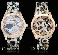 New Brand Geanel Watch Fashion Camouflage military sports quartz Watch Jelly women Dress watches Relogio Feminino
