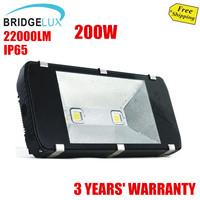200W Bridgelux Brand led flood light led spotlight outdoor lighting,85-265V,>22000lm high bright,3 years warranty