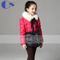 Children Winter Outwear Petal Flower Pattern Child Clothing Kids Down & Parkas Girls Clothes Children Girl Winter Coat Winter