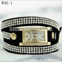 Handmade Crystal Genuine Leather Watch