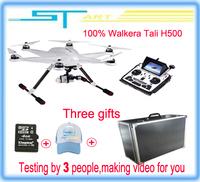 EMS free shipping Walkera TALI H500 Drone RTF Hexacopter DEVO F12E transmitter G-3D Gimbal ILOOK+ camera FPV GPS with case box