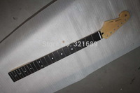 Factory Wholesale Top quality Left Hand F ST 22 fret guitar neck  Maple neck  + rosewood fingerboard guitar bow