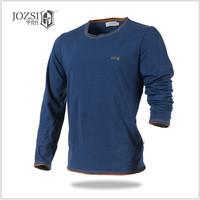 2014 New Fashion Brand Casual T-Shirt  Men T Shirt  Men's Long Sleeve Tshirt  100% Cotton High Quality