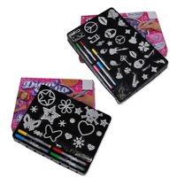New arrival 2014 Christmas gift DIY handmade coloring toys 24cm*19cm/32cm*22cm educational toys for Kids