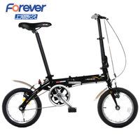2014 New Permanent Brand Bicycle 14 Folding Bike Multicolor Aluminum Alloy Folding Bike V Brakes 10kg Ultralight Bicycle