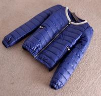 2014 Parkas For Women Winter Coat Jacket Women Outerwear Thick Pearl Collar Blue Beige Black Short Down Jacket Parka