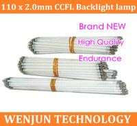 HK Post Free Shipping CCFL 110 mm * 2.0mm LCD Backlight Lamp High Quality  110mm x 2.0mm ccfl light