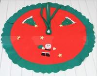 Christmas tree skirt red fabric tree skirt christmas tree decoration christmas tree apron