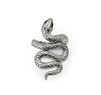 New 925 sterling silver ring unique snake ring silver jewelry best gift for women Wholesale Free shipping TSR035
