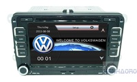 "for VW Touch Screen car dvd player gps navigation Bluetooth FM AM 7"" 2din in dash  TFT support rear view camera input"