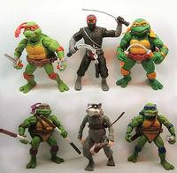 Kids Teenage Mutant Ninja Turtles Action Figures Toy TMNT Classic Collection Set