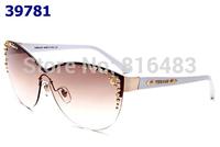 New 2014 fashion designer Brand VE2152 Women sunglasses head vintage eyewear glasses Best quality 5cols free shipping