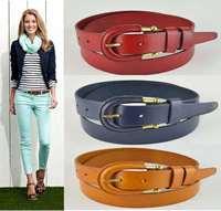 100% Genuine Leather Anti Allergy Buckle Belts For Women Jeans Wide ladies Belt Woman Strap Cintos Femininos Ceinture WBT0044